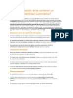 Qué Información Debe Contener Un Manual de Identidad Corporativa