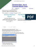cara transfer data gts topcon _ PengukuranTanah.pdf