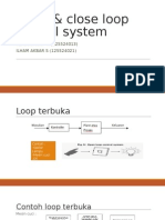 Open & Close Loop Control System