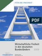 Wirtschaftliche Freiheit in den Deutschen Bundesländern 2009