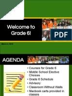 GR 5 MS Course Registration Presentation Current Grade 5 - Feb 2015