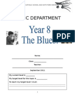 Blues Booklet 2011