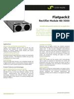 Datasheet Flatpack2 Rectifier 48-3000