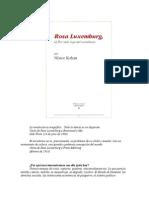 Kohan Nestor - Rosa Luxemburg - La Flor Mas Roja Del Socialismo