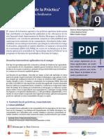 """Estudio de caso 9 - """"Aprendizaje desde la Práctica"""" para crear Comunidades Resilientes en Nicaragua"""