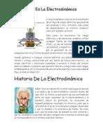 La Electrodinámica