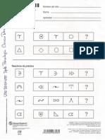 Wppsi 3 Cuadernillo de Respuestas