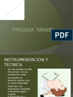 patologia tiroides