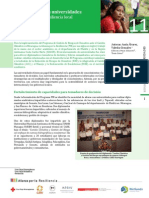 Estudio de caso 11 - Colaboración con universidades para fortalecer la resiliencia local  en Nicaragua