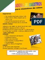 Afiche Academia 2015