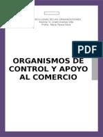 Organismos de Control y Apoyo Al Comercio Exterior