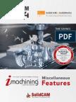 SolidCAM 2014 IMachining Misc Features