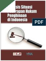 Analisis Terhadap Situasi Hukum Penghinaan Di Indonesia