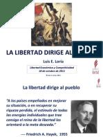Luis E. Loria - La Libertad Dirige Al Pueblo