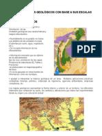geología de mapas