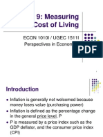 Topic 9. Measuring the Cost of Living