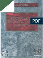 Técnicas de La Investigación Jurídica - Jorge Witker
