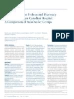 PerceptionsoftheProfessionalPharmacyServicesinaMajorCanadianHospitalAComparisonofStakeholder.unlocked(1).pdf