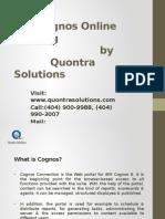 Cognos Overview