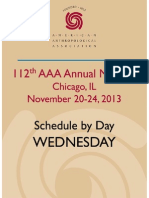 2013 AAA Annual Meeting Program