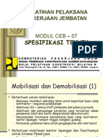 Modul-07 Spesifikasi Tehnik