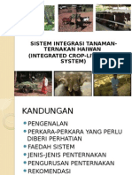 Lecture Integrated Crop-livestock System
