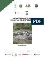 Balance hídrico de la subcuenca del Río Tapacalí