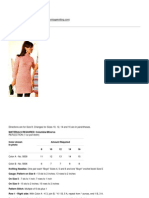Knitting Patterns - Roseau Dress