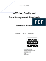 MWD Log Quality & Standards