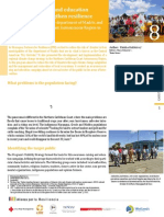 Case study 8 - Awareness-raising and education campaigns to strengthen resilience in four municipalities of the department of Madriz and the Northern Caribbean Coast Autonomous Region in Nicaragua