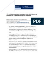 The Broad-spectrum Anti-emetic Activity of as-8112, A