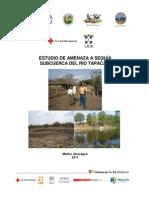 Riesgo sequía, subcuenca del Río Tapacalí, Madriz, Nicaragua