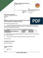 Surat Rasmi Permohonan Buka Akaun Bank Persoalan S