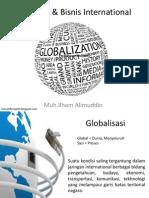 Globalisasi & Bisnis International (Pertemuan Kelima)