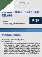 Islam Dan Syariah Islam