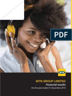 MTN Annual Financial Results Booklet 2014