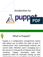 Introduction to Puppet - SpringPeople