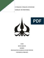 makalah sejarah hukum otonomi daerah