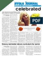 The Suffolk Journal 3/4/2015