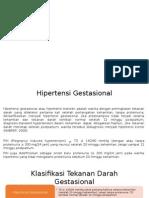 Klasifikasi HT TD Gestasional