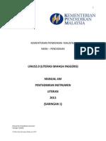 Manual Am Pentadbiran Instrumen Saringan 1 2015