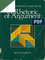 A Rhetoric of Argument