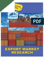 Export Market- Research