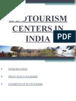 Eco Tourism PROJECT