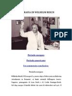 Biografia di Wilhelm Reich
