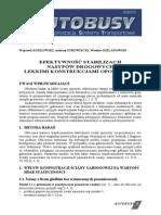 Efektywność Stabilizacji Nasypów Drogowych Lekkimi Konstrukcjami Oporowymi