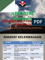 Profil UPI 2014