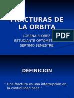FRACTURAS DE LA ORBITA