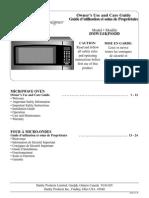 Danby 1.1 Cu. Ft. Countertop Microwave Oven - Designer DMW111KPSSDD - Stainless Steel - Manual