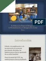 Educación Especial Integrada